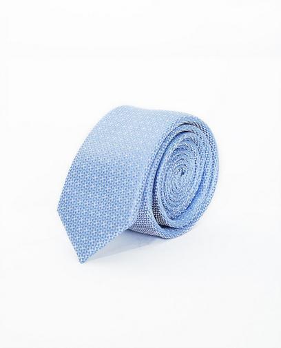Cravate bleu clair, soie